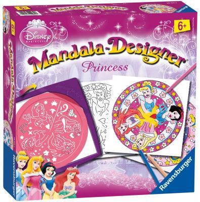 Набор для творчества Ravensburger Мандала - Принцессы от 6 лет 29971 набор для творчества ravensburger набор для творчества mandala designer принцессы