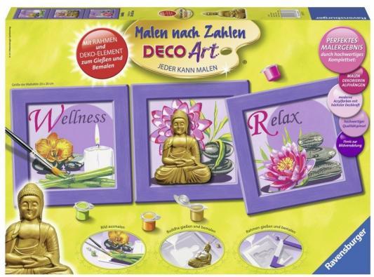 Набор для рисования Ravensburger Раскрашивание по номерам Будда от 10 лет 28970 ravensburger ravensburger набор для творчества mandala designer балерины