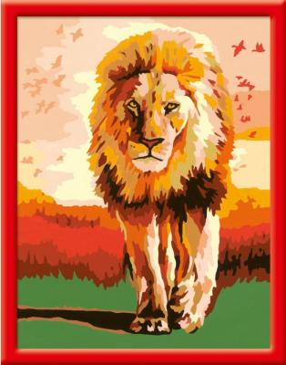 Набор для творчества Ravensburger Раскрашивание по номерам Гордый лев от 9 лет набор для творчества ravensburger раскрашивание по номерам тигренок от 7 лет