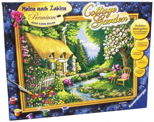 Набор для творчества Ravensburger Раскрашивание по номерам Дом в саду