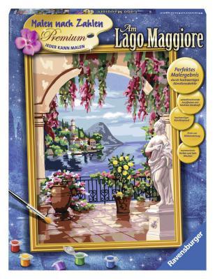 Набор для творчества Ravensburger Раскрашивание по номерам Итальянский пейзаж от 10 лет 28809