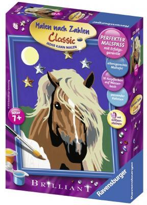 Набор для творчества Ravensburger Раскрашивание по номерам Лошадь в лунном свете от 7 лет