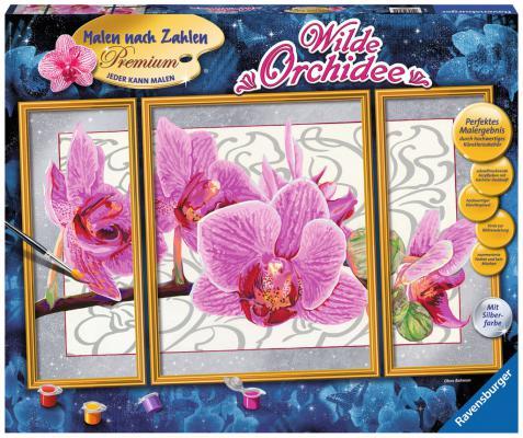 Набор для творчества Ravensburger Раскрашивание по номерам Орхидея