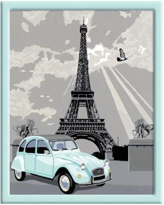 Набор для творчества Ravensburger Раскрашивание по номерам Париж от 14 лет ravensburger ravensburger раскрашивание по номерам тигренок