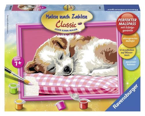 Набор для рисования Ravensburger Спящий щенок от 7 лет
