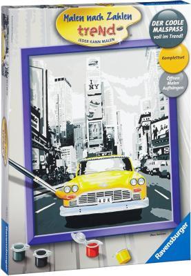 Набор для творчества Ravensburger Раскрашивание по номерам Такси в Нью-Йорке от 12 лет набор для творчества ravensburger раскрашивание по номерам тигренок от 7 лет