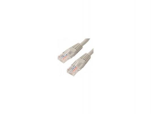 Патч-корд UTP 5е категории Telecom 10м литой серый NA/TZ102 6242755317567