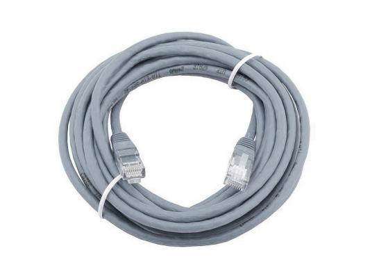 Патч-корд UTP 5е категории Telecom 20м литой серый NA/TZ102 6242755316508