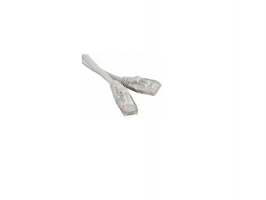Патч-корд UTP 5е категории Telecom 2м литой серый NA102 6242755316782