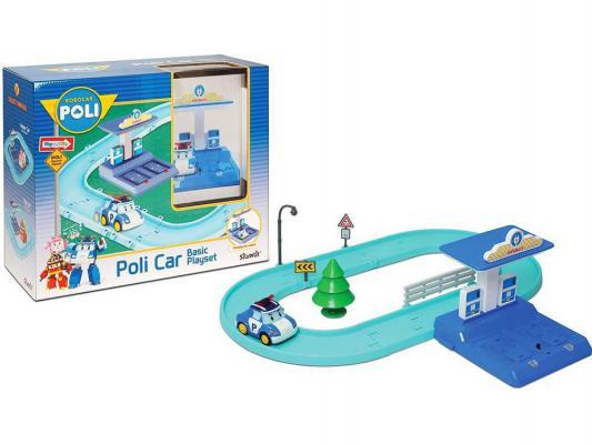Игровой набор Poli Маленький трек с Умной машинкой Поли от 3 лет 83270