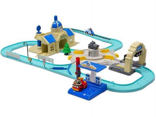Игровой набор Poli Мега трек с 2мя Умными машинками от 3 лет 83283