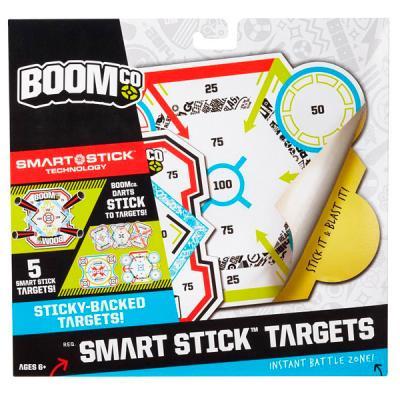 Набор мишеней Mattel Boomco, 5 шт разноцветный для мальчика Y8624 mattel система быстрой перезарядки бластеров boomco