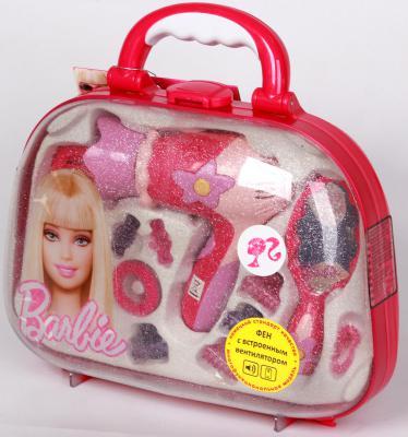 Набор парикмахера для кукол Klein с феном Barbie 5714 набор парикмахера klein barbie с феном 8 предметов 5793