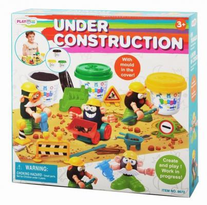 Набор для лепки Playgo Стройка от 3 лет 8672 набор для ванной playgo утята 2430