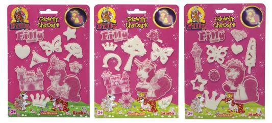 Купить Набор Simba Наклейки-светящиеся Filly 58102