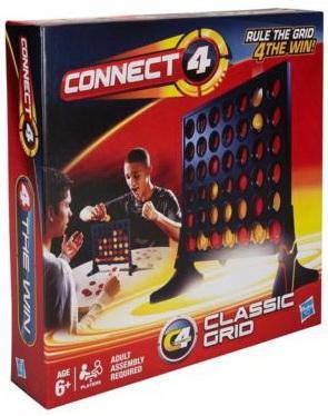 Настольная игра HASBRO логическая Собери 4 Решетка 98779 наборы для рисования лавка чудес развивающая игра собери и раскрась истребитель