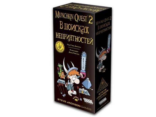 Настольная игра карты Мир хобби Манчкин Квест-2. В Поисках Неприятностей
