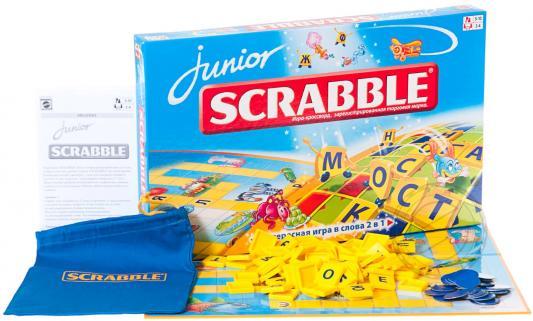 Настольная игра MATTEL развивающая Scrabble Junior (Скрэббл джуниор) Y9736