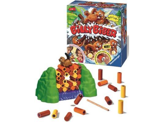 Настольная игра Ravensburger развивающая Бобёр Вилли 21103 настольная игра развивающая ravensburger пляшущие человечки 21140