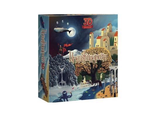 Настольная игра Stupid casual Имаджинариум 3D 10935 настольная игра логическая stupid casual имаджинариум дополнительный набор карт одиссея 52002