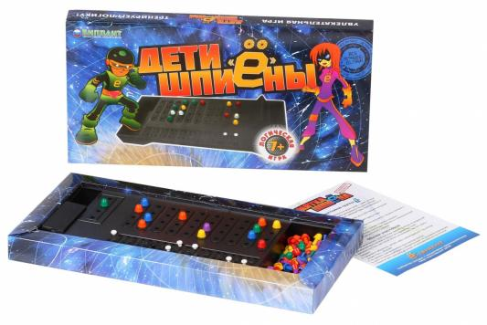 Настольная игра Биплант логическая Дети шпионы 10026 биплант настольная игра дети шпиёны 10026 10025