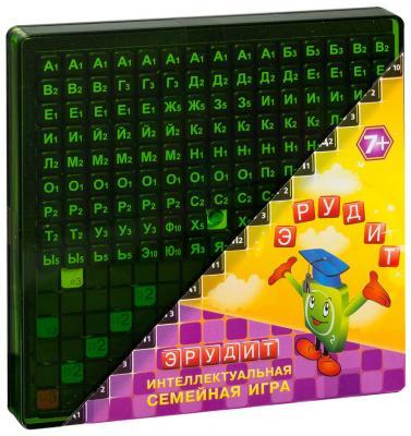 Настольная игра логические Биплант  Эрудит (черные фишки) 10011