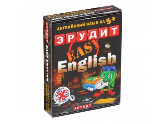 Настольная игра Биплант развивающая Эрудит Easy English-подарочный 10007