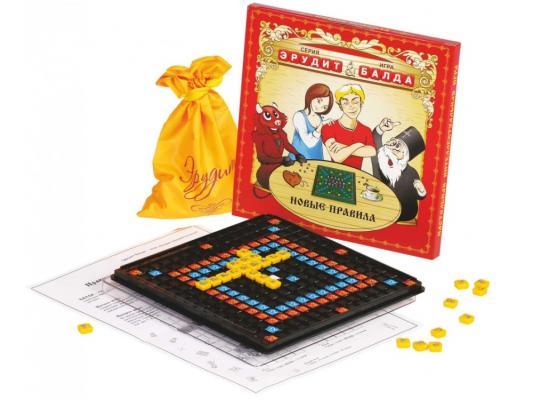 Настольная игра Биплант развивающая Эрудит Балда настольная игра биплант развивающая эрудит подарочный набор 10008