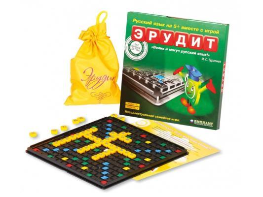 Настольная игра Биплант развивающая Эрудит в коробочке 10017