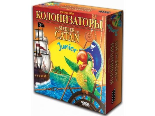 Настольная игра Мир хобби развивающая Колонизаторы Junior цена