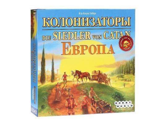 Настольная игра Мир хобби развивающая Колонизаторы Европа