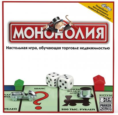 Настольная игра Hasbro Монополия (классическая) 00009