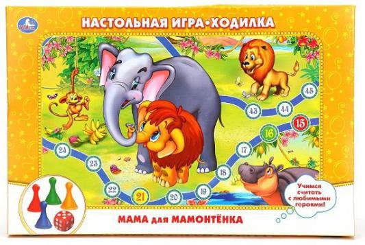 Настольная игра УМКА развивающая Приключения мамонтенка 85486 от 123.ru
