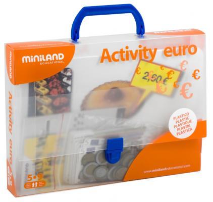 Настольная игра Miniland развивающие Euro 31916 магнитная игра развивающие miniland магнитные буквы заглавные 64 элемента 97925