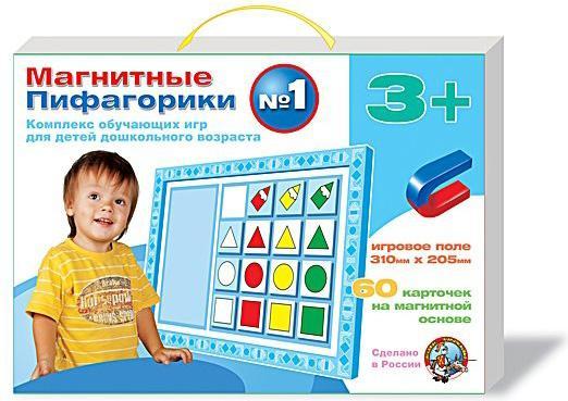Магнитная игра Десятое королевство обучающая Пифагорики №1