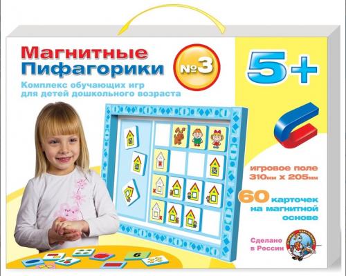 Магнитная игра обучающая Десятое королевство Пифагорики №3 1498 десятое королевство обучающая игра играем в алфавит