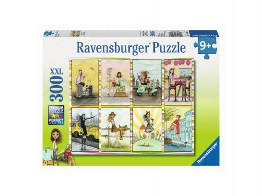 Пазл Ravensburger Модницы 300 элементов пазлы ravensburger пазл книга джунглей 300 элементов
