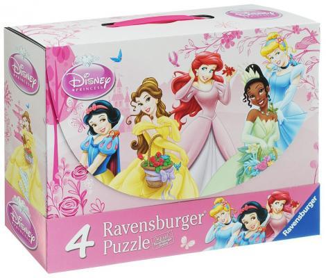 Набор пазлов Ravensburger 4 в 1 Принцессы 2х64 и 2х81 элементов