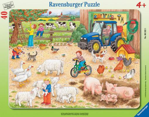 Пазл Ravensburger Большое хозяйство 40 элементов 06332 пазл ravensburger озеро эйб 1000 элементов
