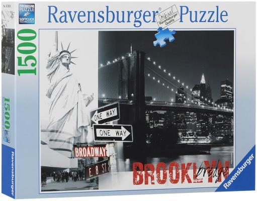 Пазл Ravensburger Бруклинский мост 1500 элементов пазлы ravensburger пазл бруклинский мост 1500 элементов