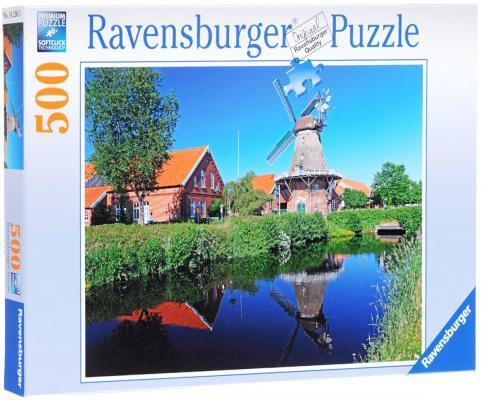 Пазл Ravensburger Ветряная мельница 500 элементов пазл ravensburger сейшелы 1500 элементов