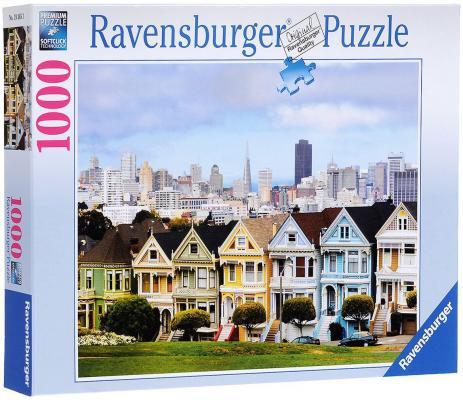Пазл Ravensburger Викторианские дома Сан-Франциско 1000 элементов 193653 пазл ravensburger озеро эйб 1000 элементов