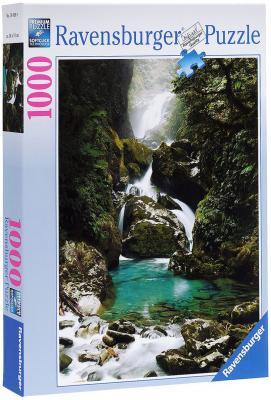 Пазл Ravensburger Водопад Маккей Новая Зеландия 1000 элементов пазл ravensburger озеро эйб 1000 элементов