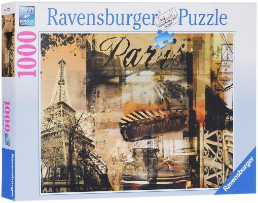 Пазл Ravensburger Воспоминание о Париже 1000 элементов пазл ravensburger сейшелы 1500 элементов