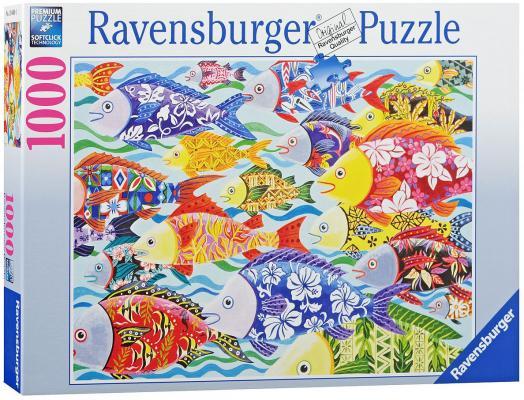 Пазл Ravensburger Гавайские рыбы 1000 элементов пазл ravensburger озеро эйб 1000 элементов