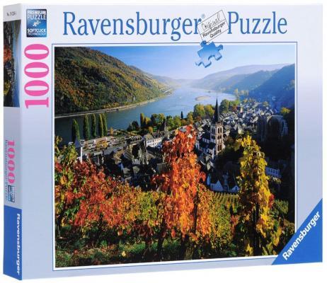 Пазл Ravensburger Город на Рейне 1000 элементов пазлы ravensburger пазл панорамный пляжные корзинки на зюлте 1000 элементов