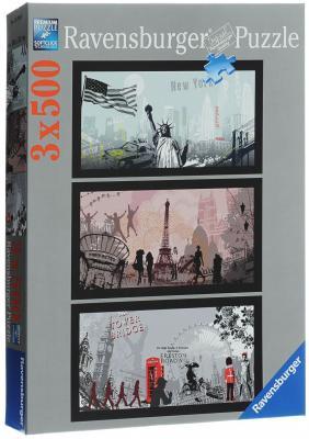 Пазл Ravensburger Городской стиль 500 элементов ravensburger пазл триптих городской стиль 1500 деталей