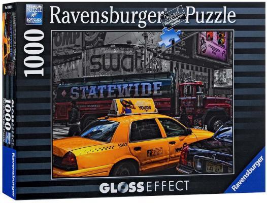 Пазл Ravensburger Желтое такси с глянцевым эффектом 1000 элементов пазлы ravensburger пазл цветные кексы с глянцевым эффектом 1000 элементов