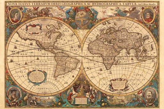Пазл Ravensburger Историческая карта 5000 элементов 17411