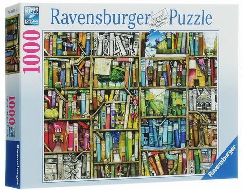 Пазл Ravensburger Книжная лавка 1000 элементов пазлы ravensburger паззл маяк на полуострове брус 1000 шт
